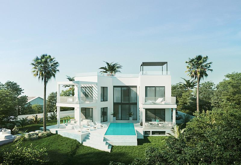 Marbella Estates - Wille na sprzedaż w Marbesa